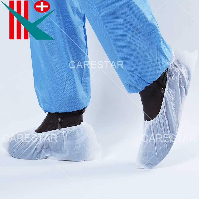 Disposable CPE Shoe Cover, Made by Machine