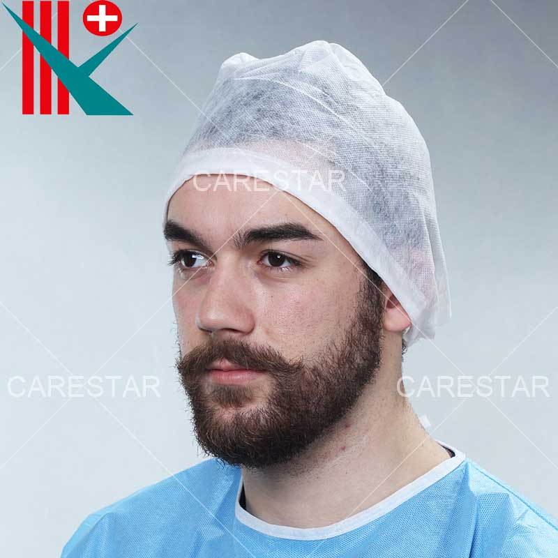 Disposable PP Doctor Cap Tie-on, Made by Hand