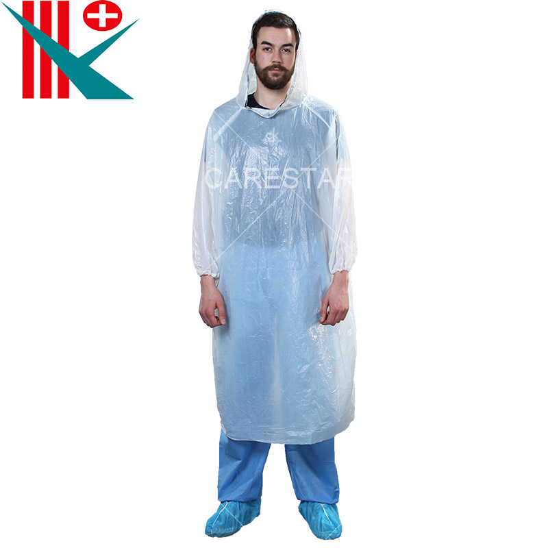 Disposable CPE Raincoat